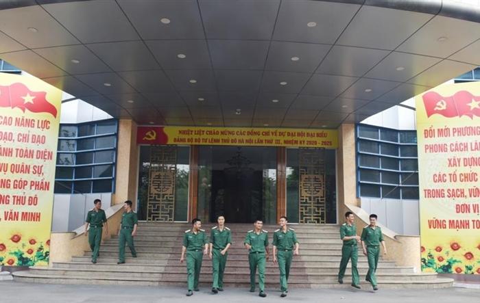 Sổi nổi các hoạt động của tuổi trẻ Bộ Tư lệnh Thủ đô chào mừng Đại hội Đảng