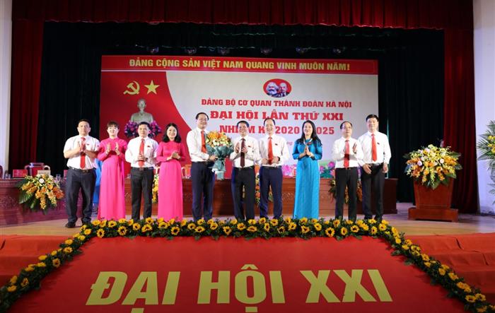 Đồng chí Nguyễn Ngọc Việt tái đắc cử chức danh Bí thư Đảng ủy cơ quan Thành đoàn Hà Nội