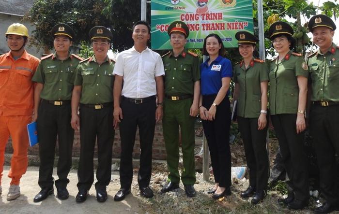 Mùa hè Thanh niên tình nguyện của tuổi trẻ EVN HANOI