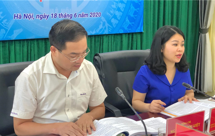 Ban Thường vụ Thành đoàn Hà Nội đóng góp ý kiến vào văn kiện Đại hội Đảng bộ Thành phố lần thứ XVII