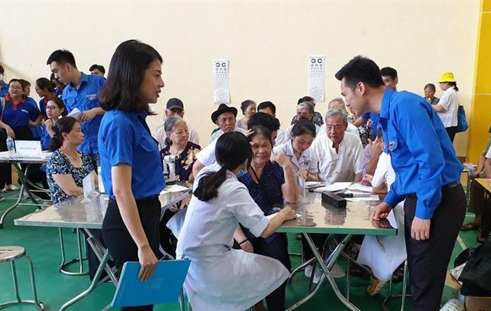 Tuổi trẻ Hà Đông tình nguyện vì cuộc sống cộng đồng