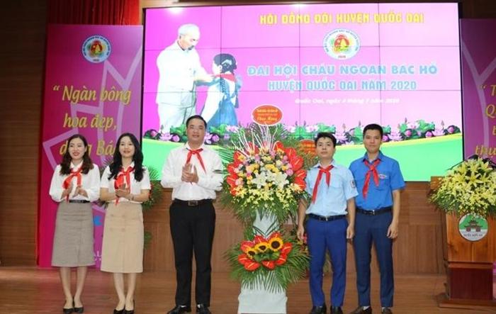 84 thiếu nhi tiêu biểu dự Đại hội Cháu ngoan Bác Hồ huyện Quốc Oai