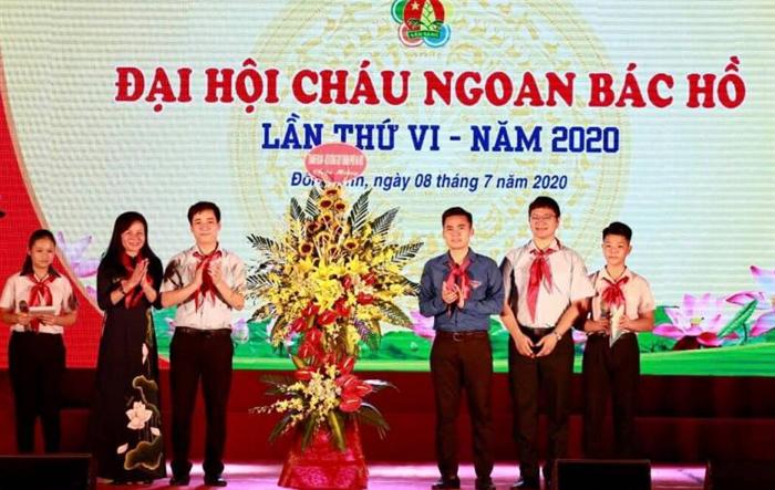 110 thiếu nhi được tuyên dương tại Đại hội Cháu ngoan Bác Hồ
