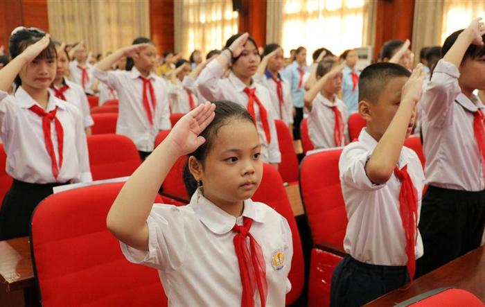 116 đại biểu ưu tú dự Đại hội Cháu ngoan Bác Hồ huyện Phú Xuyên