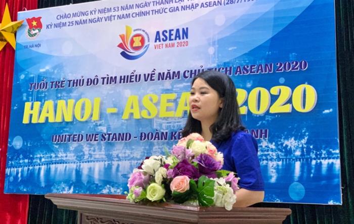 Tuổi trẻ Thủ đô thi tìm hiểu về năm Chủ tịch ASEAN 2020