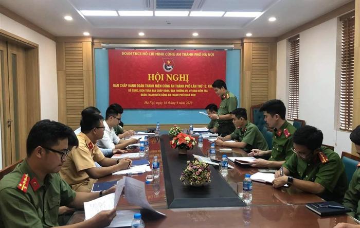Đoàn Thanh niên Công an thành phố Hà Nội: nhiều dấu ấn nổi bật qua các phong trào thi đua