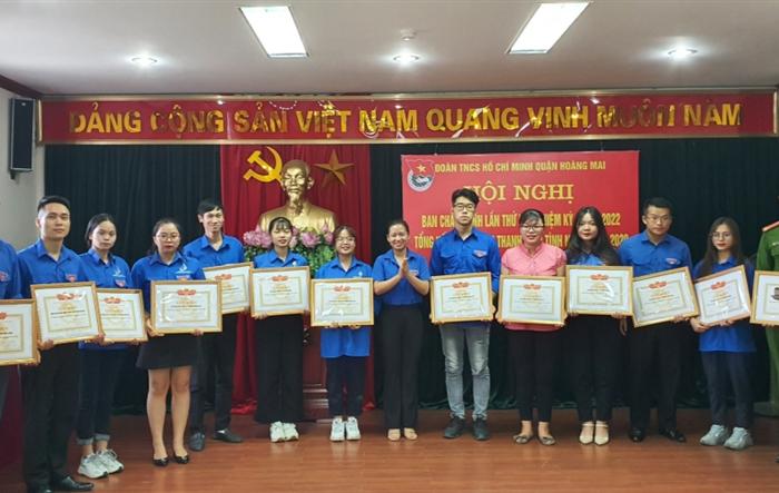 Tuổi trẻ Hoàng Mai vượt 9 chỉ tiêu trong Chiến dịch Thanh niên tình nguyện hè