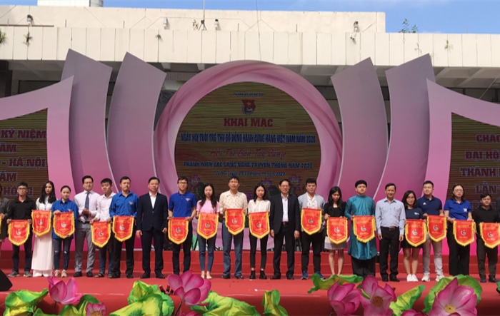Tuổi trẻ Thủ đô đồng hành cùng hàng Việt, sản phẩm truyền thống