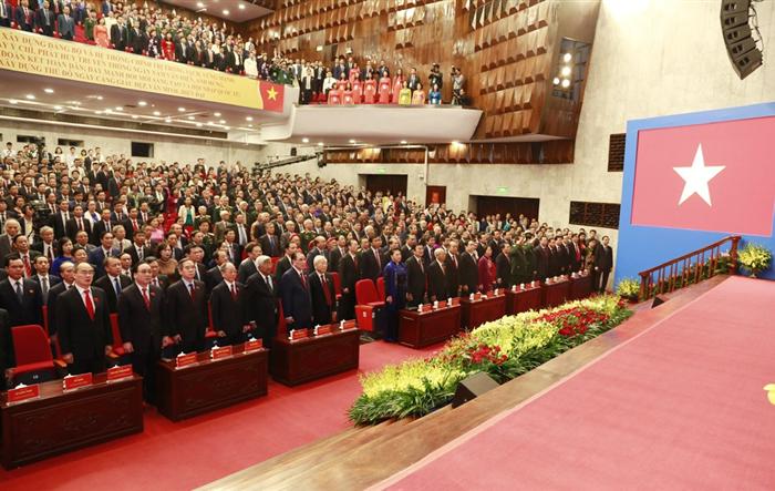 Trực tiếp: Khai mạc trọng thể Đại hội đại biểu lần thứ XVII Đảng bộ TP Hà Nội