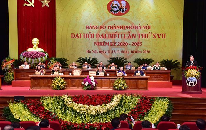 Danh sách Ban Thường vụ Thành ủy Hà Nội khóa XVII