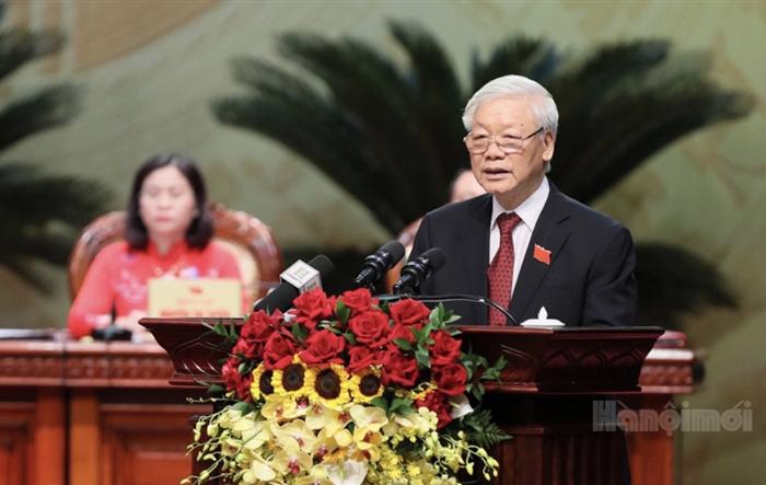 Tổng Bí thư, Chủ tịch nước: Hà Nội chưa khi nào có được quy mô, tầm vóc, cơ hội phát triển như bây giờ