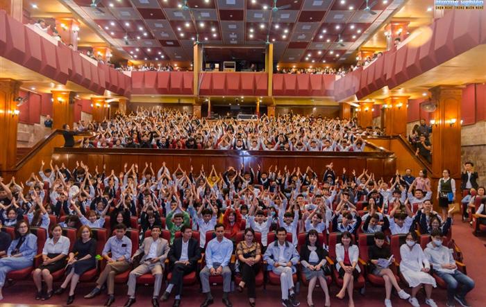 600 học sinh huyện Phúc Thọ được hướng nghiệp bằng nhạc kịch
