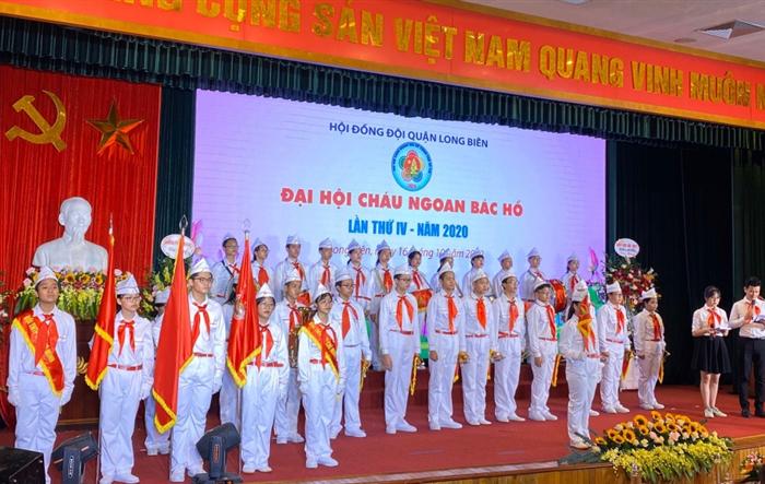 """47 thiếu nhi Long Biên được tuyên dương """"Cháu ngoan Bác Hồ"""""""