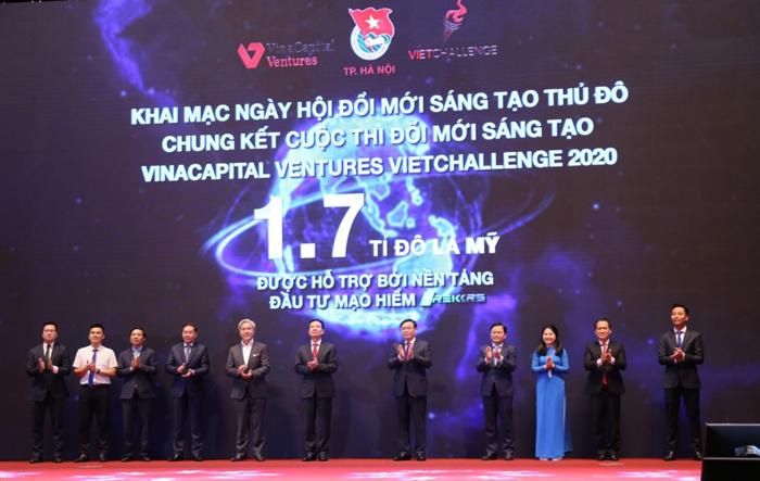 Ngày hội Đổi mới sáng tạo Thủ đô: Số hóa đầu tư khởi nghiệp khu vực ASEAN
