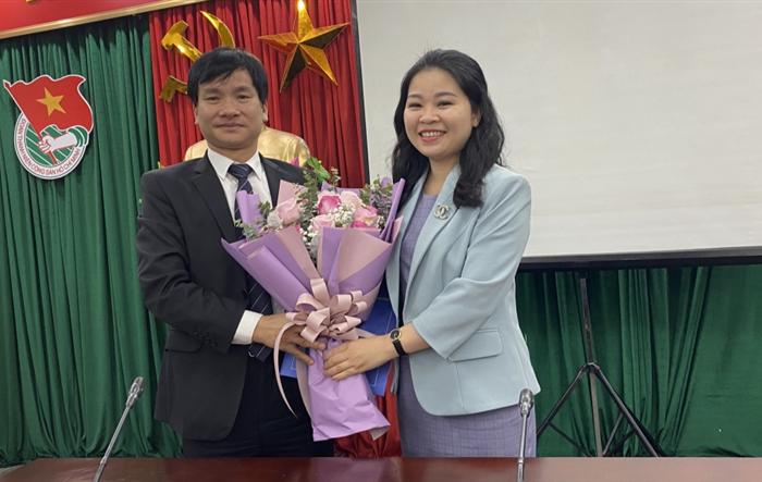 Đồng chí Chu Hồng Minh trở thành tân Bí thư Đảng ủy Cơ quan Thành đoàn Hà Nội