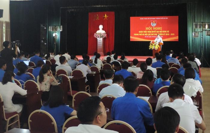 Tuổi trẻ Thủ đô tích cực học tập Nghị quyết Đại hội Đảng bộ thành phố lần thứ XVII