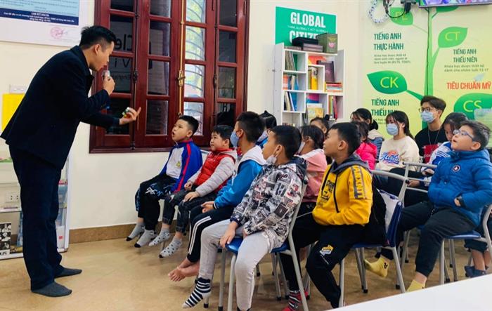 Khai giảng lớp đào tạo tiếng Anh miễn phí cho thanh, thiếu nhi Hà Đông
