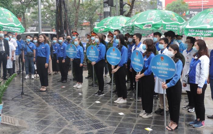 Tuổi trẻ quận Hai Bà Trưng thực hiện 90 vườn cây thanh niên
