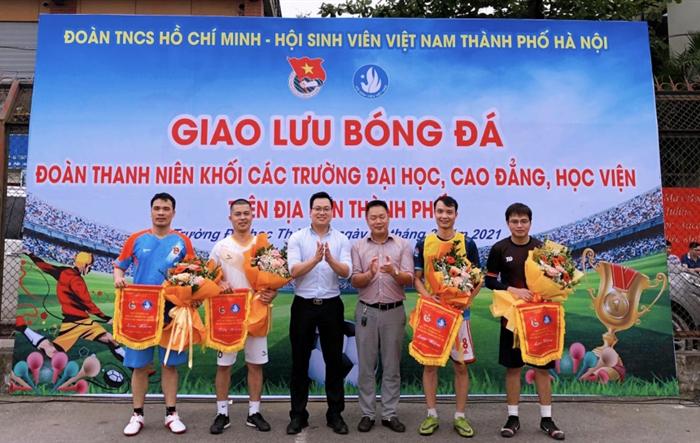 Khai mạc giải bóng đá Đoàn Thanh niên khối các trường đại Đại học, Cao đẳng, Học viện trên địa bàn thành phố Hà Nội