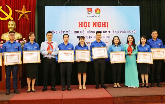 """Hội đồng trẻ em - """"cơ quan"""" đại diện tiếng nói của trẻ em thành phố Hà Nội"""