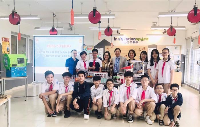 Hơn 600 thí sinh tranh tài tại Hội thi Tin học trẻ thành phố Hà Nội