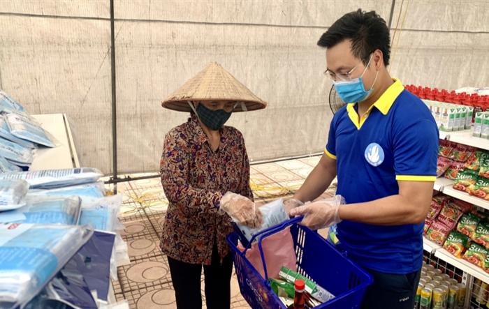 """Hà Nội: Hơn 20.000 hộ nghèo tiếp cận """"Siêu thị 0 đồng"""" do người trẻ đảm nhận"""